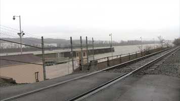 The Emsworth Locks and Dam at the Ohio River.