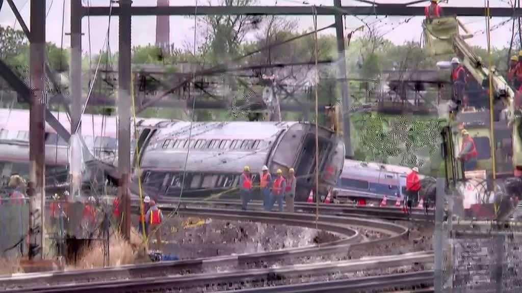 Speed factor in Amtrak crash
