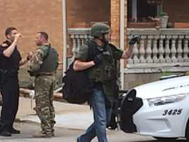 Pittsburgh Bureau of Police tactical units were called to Shadyside on Monday afternoon to deal with an incident.