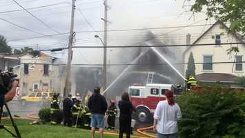 Crews battle Rochester fire on Case Street