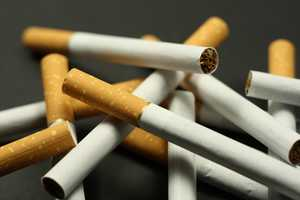 TobaccoProducts containing nicotine can cause excitement, vomiting, and tremors which are typically followed by fatal paralysis.