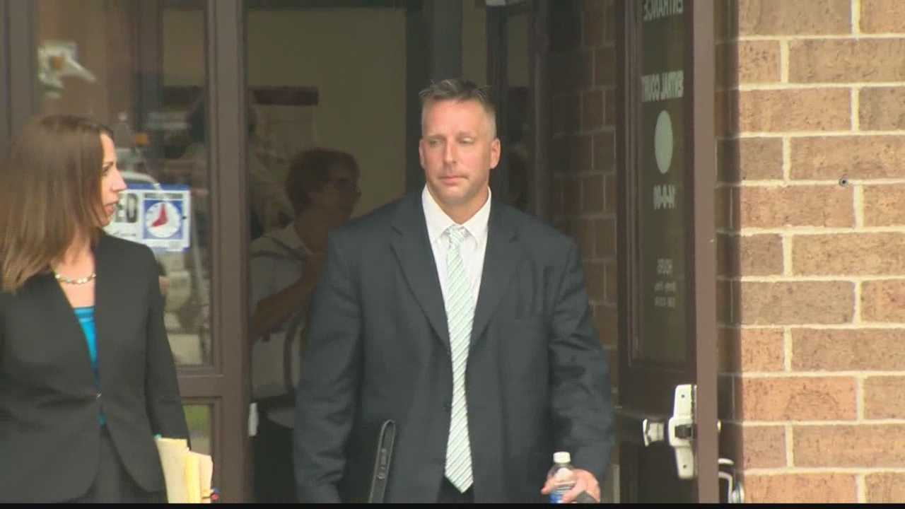 img-Ex-Connellsville cop sent to trial on charges of soliciting sex from teen girl