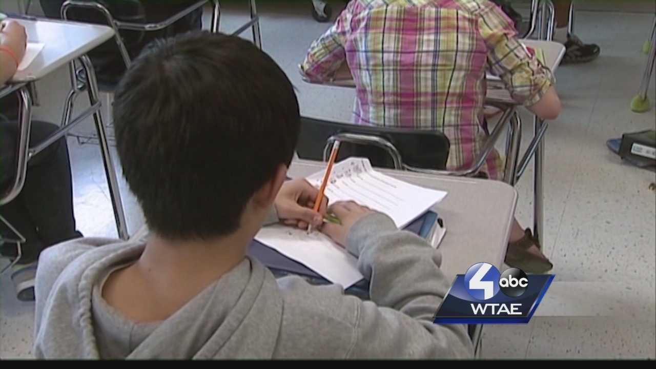 students, school, study, classroom, desks, pencils