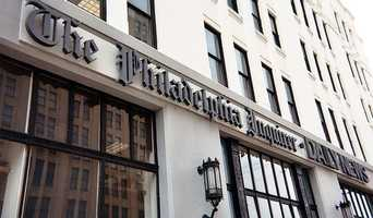 The offices of the Philadelphia Inquirer and the Philadelphia Daily News.