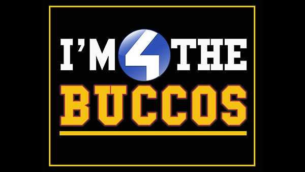 I'm 4 the Buccos - black