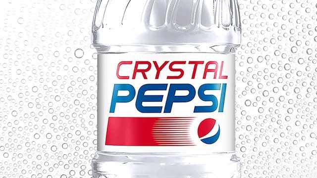 Crystal Clear Pepsi