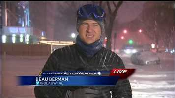 Pittsburgh's Action News 4 Beau Berman reports live from Washington, D.C. at 5:30am Saturday.