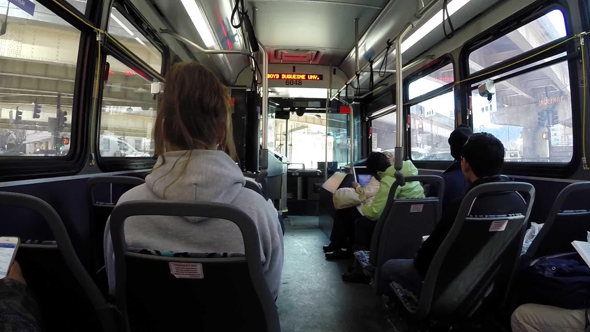 Port Authority bus passengers
