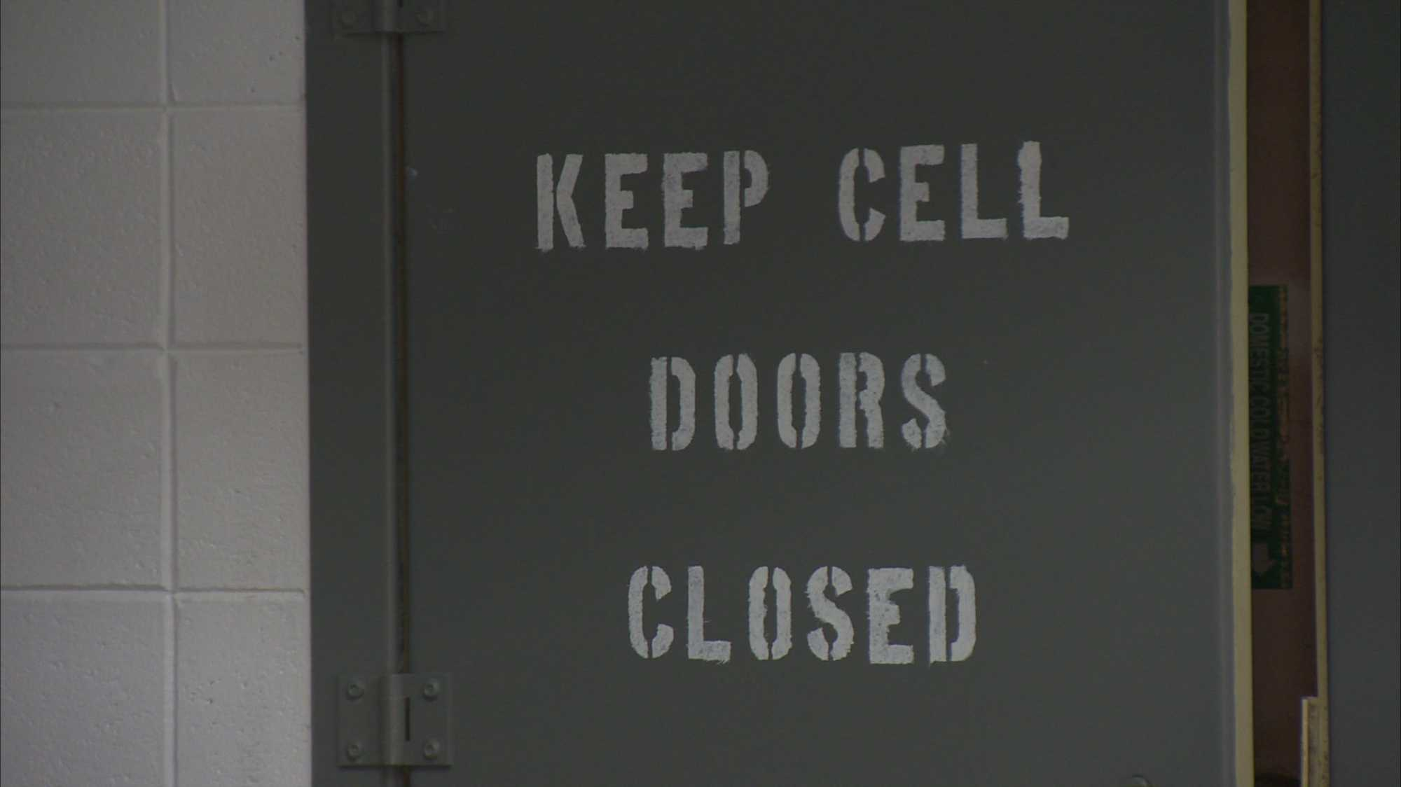 jail cell door