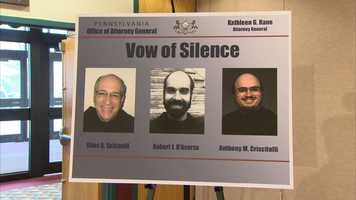 Giles Schinelli, Robert D'Aversa and Anthony Criscitelli were the successive leaders of a Franciscan order near Hollidaysburg from 1986 to 2010. All now live outside Pennsylvania.