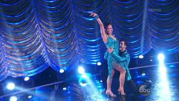 """Bruno said Zee delivered under pressure: """"It was sharp and precise."""" Carrie Ann said she is """"phenomenal"""" and that her dancing reminded her of Bindi Irwin - """"pure joy!"""" Len said it was """"frisky, risky, fast and furious."""""""