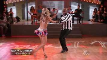 """Morris danced the Cha Cha with Lindsay Arnold to Boyz II Men's first big hit """"Motownphilly."""" Len said Morris' timing was perfect and easy. Carrie Ann said Morris was """"a total twinkle toe in the making!"""""""