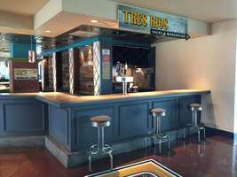 House margaritas can be purchased at the new Tres Rios Taqueria located on the Pittsburgh Baseball Club Level.