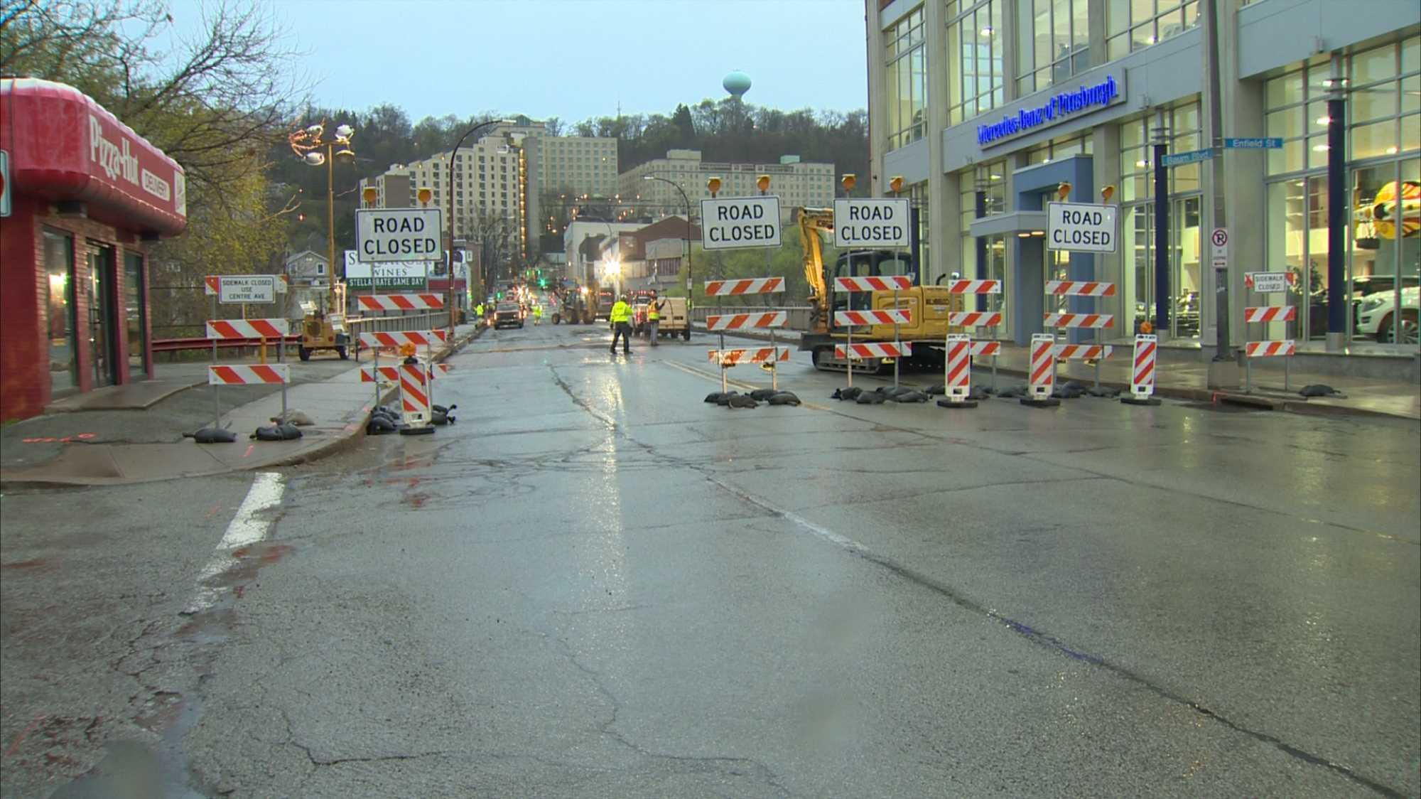 img-Baum Boulevard Bridge closes for 80 consecutive days