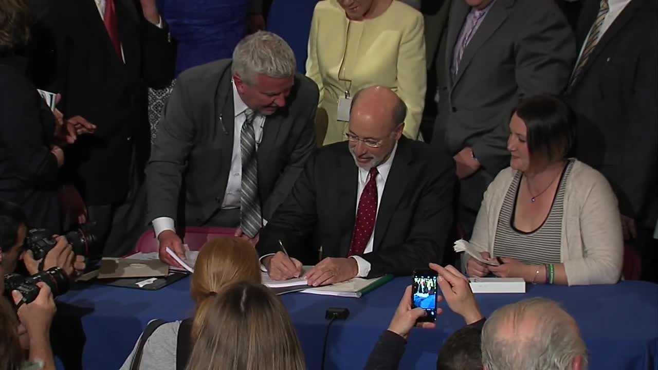 Gov. Wolf signs medical marijuana bill