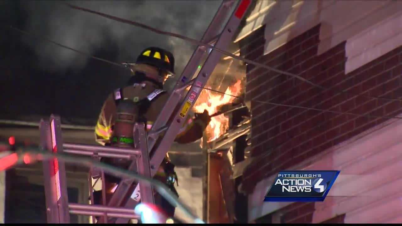 3 buildings damaged by fire in South Side Flats