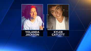 Yolanda Jackson and Kyler Catlett were killed in a crash in Georges Township.
