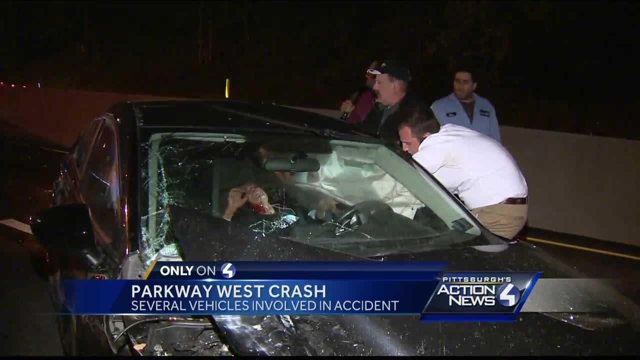 Parkway West crash