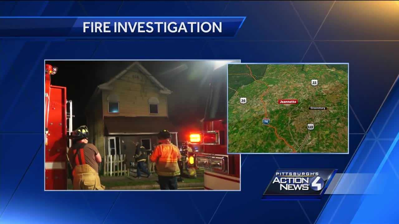 Multiple crews called to house fire in Jeannette