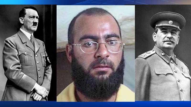 Adolf Hitler, Abu Bakr al-Baghdad, Joseph Stalin