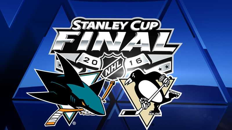 Penguins-Sharks, Stanley Cup Final logo