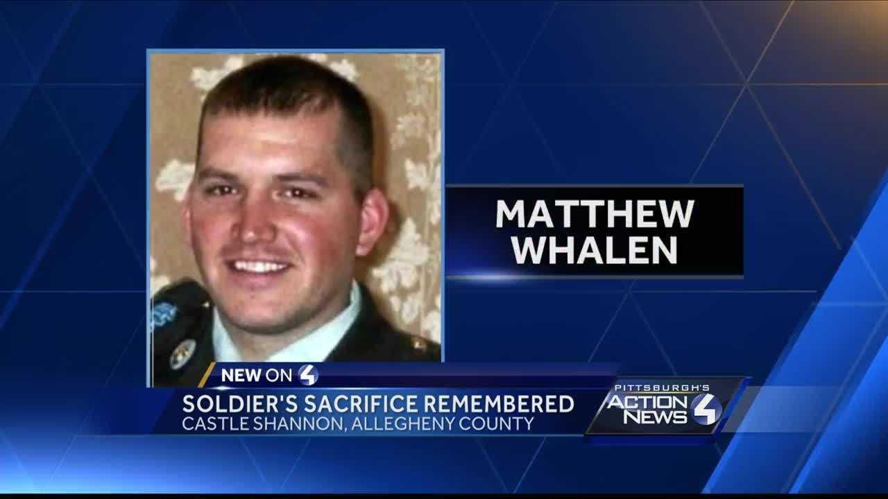 Castle Shannon soldier's sacrifice remembered