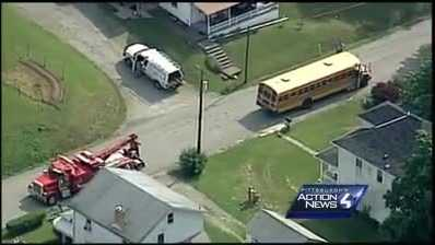 Sky 4: At least two students injured in school bus accident