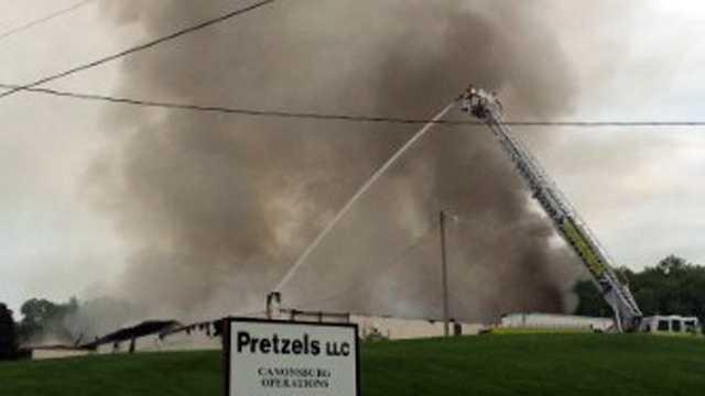 Pretzel fire