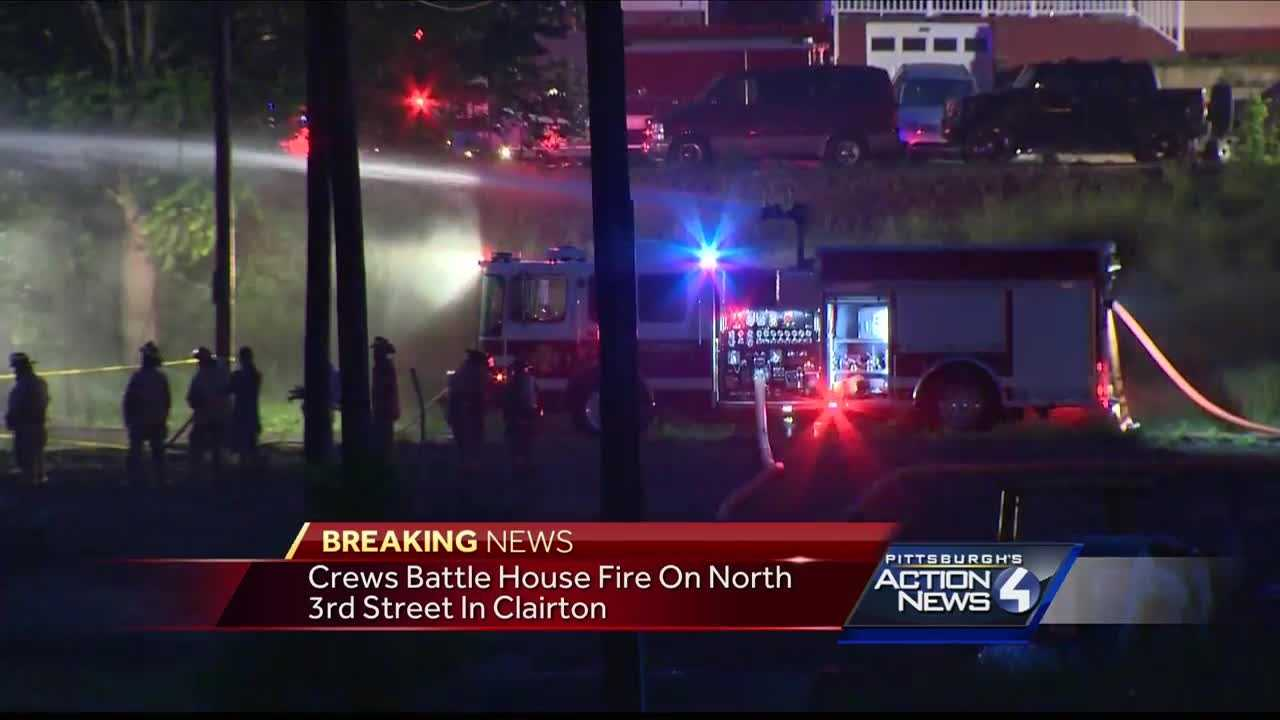 Crews called to house fire in Clairton
