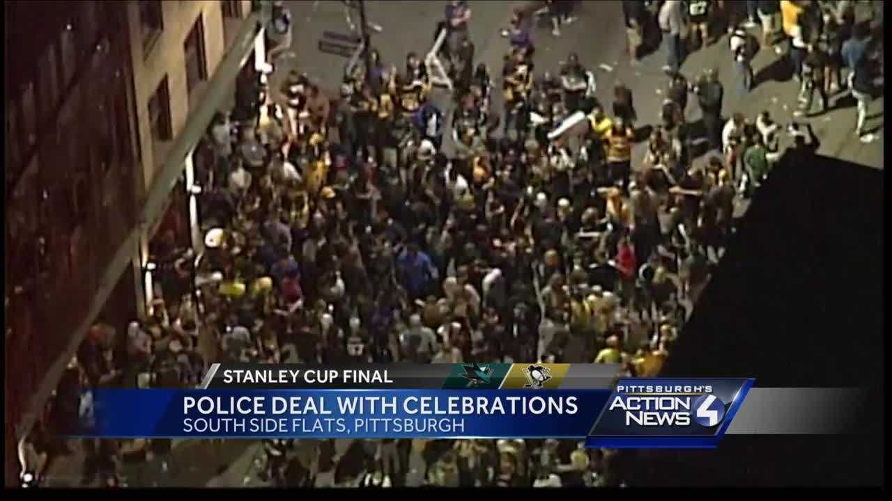 Police report one arrest during Stanley Cup celebrations