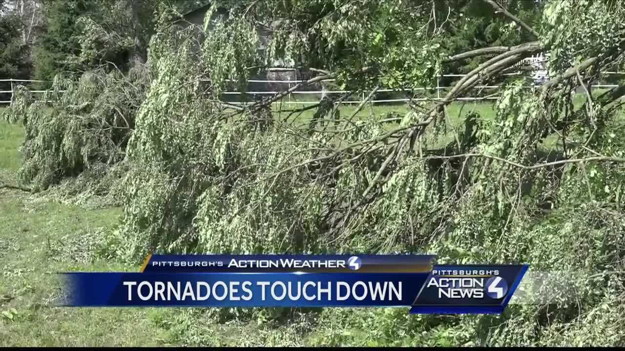 img-NWS confirms two weak tornadoes spawned in Thursday s storms