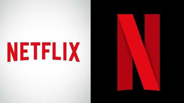 New Netflix logo