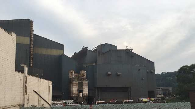 Explosion, fire at Edgar Thomson plant in Braddock