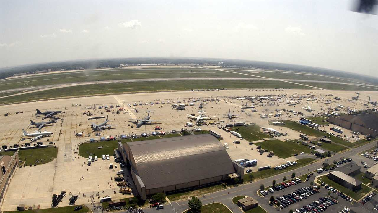 Joint Base Andrews in Maryland