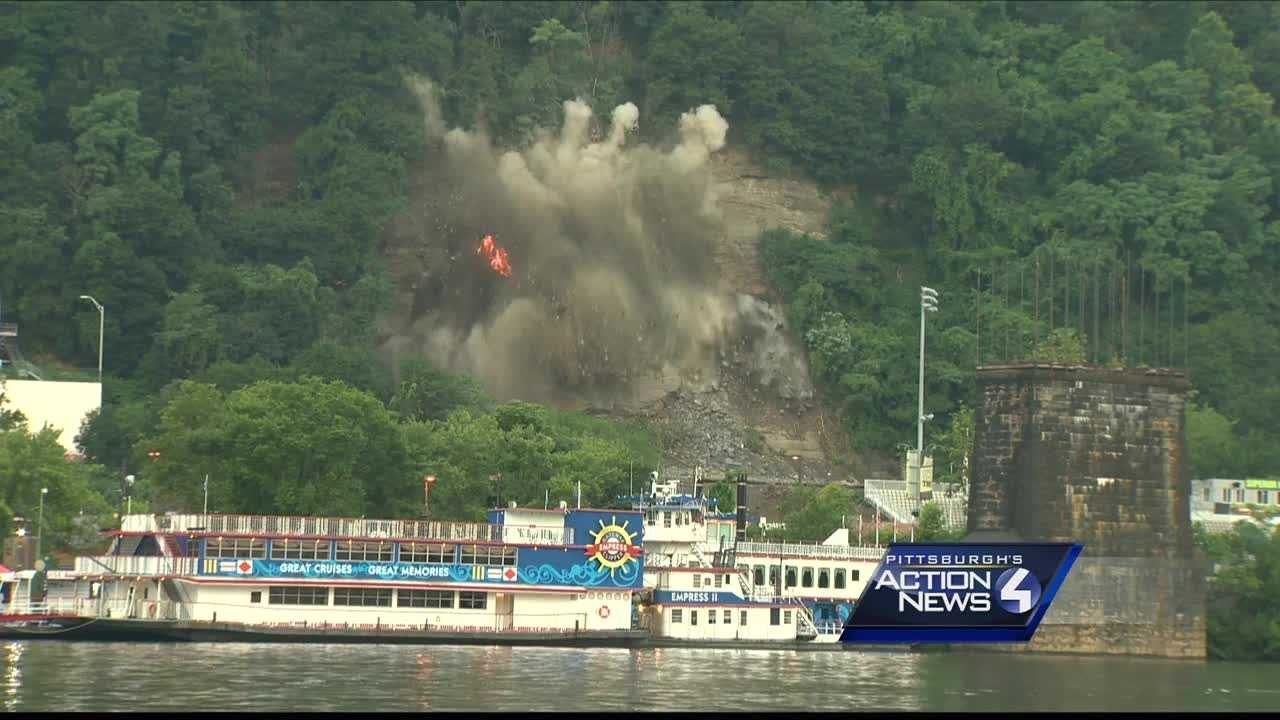 img-Big blast held at site of West Carson Street landslide