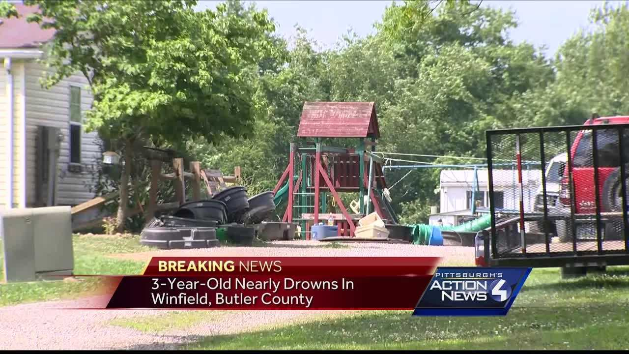 img-3-year-old Butler County girl nearly drowns in family s pool
