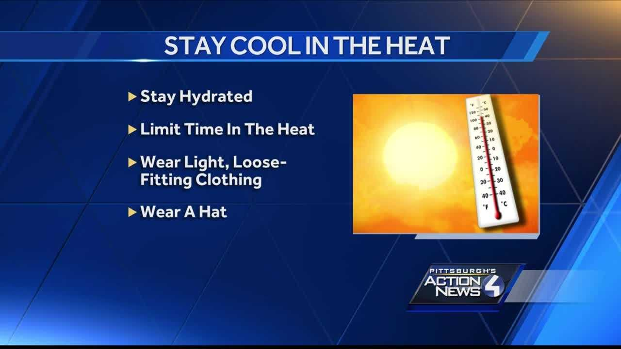 Heat is ON: Pittsburghers dealing with high temperatures