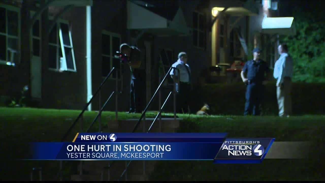 Shooting investigation in McKeesport