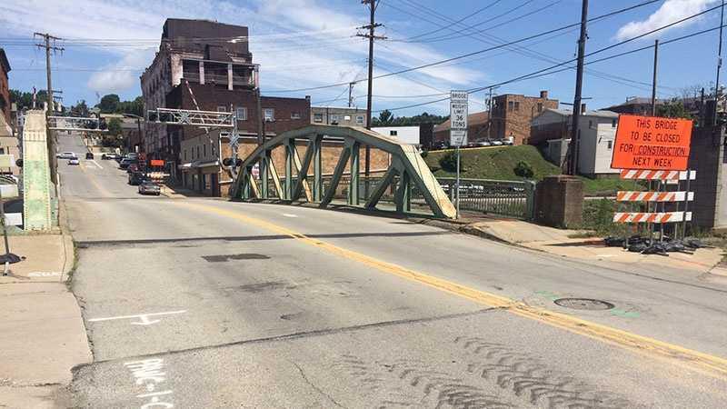 South Central Avenue bridge in Canonsburg