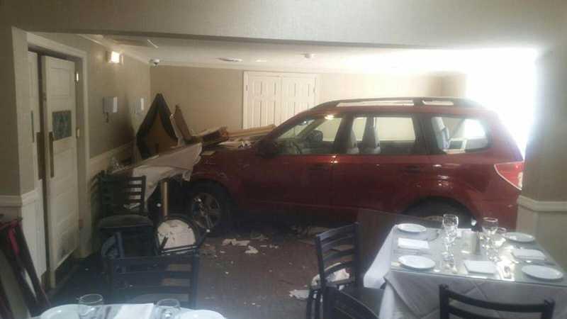 Andora crash inside