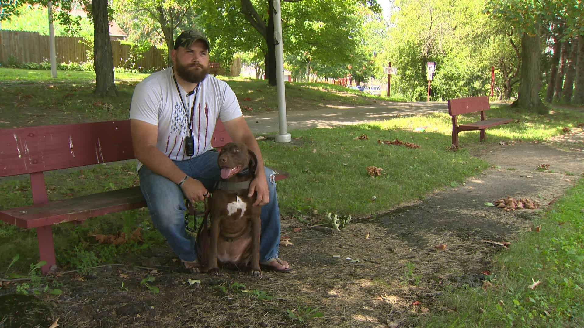 Uniontown Marine Corps veteran asked to leave bar because of service dog