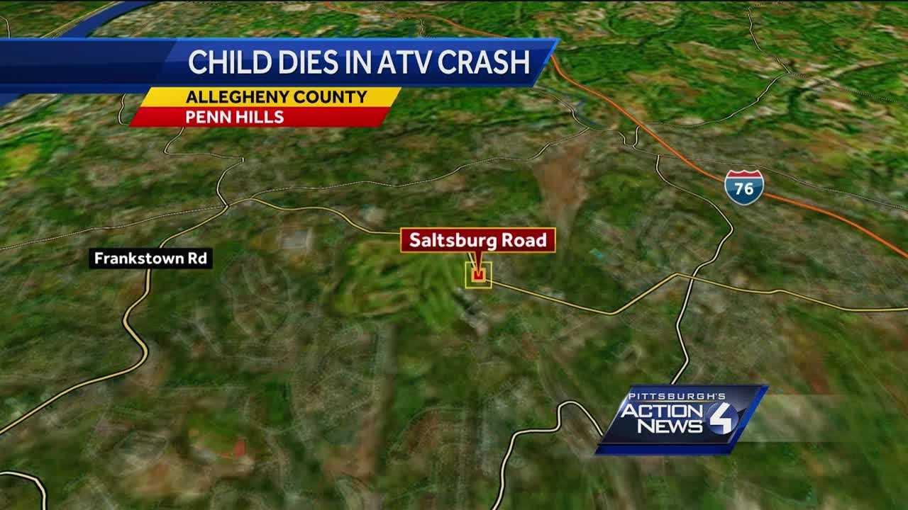 Penn Hils ATV crash map