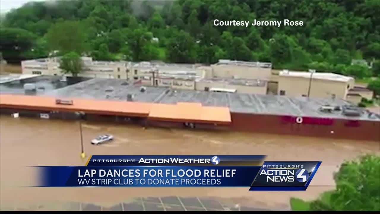 lap dance flood relief