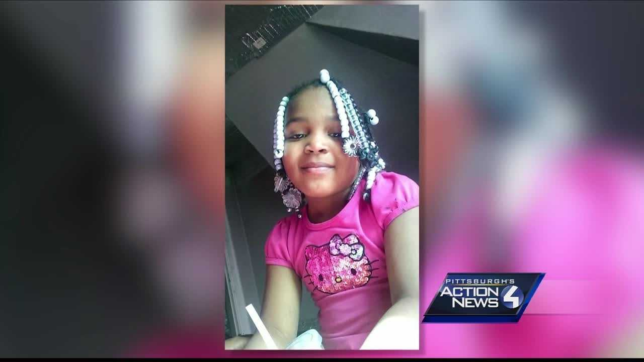 img-Family friends gather to say goodbye to girl killed by bullet meant for someone else
