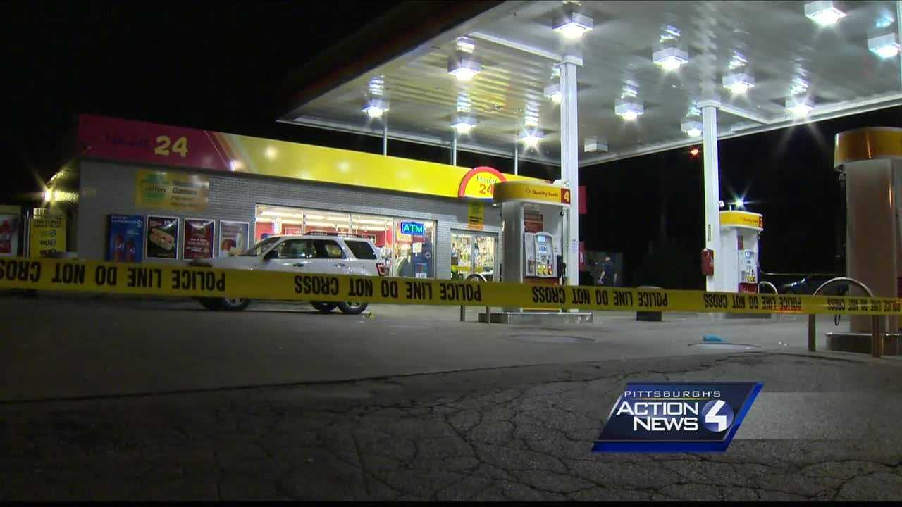 Victim found at gas station after East Hills shooting