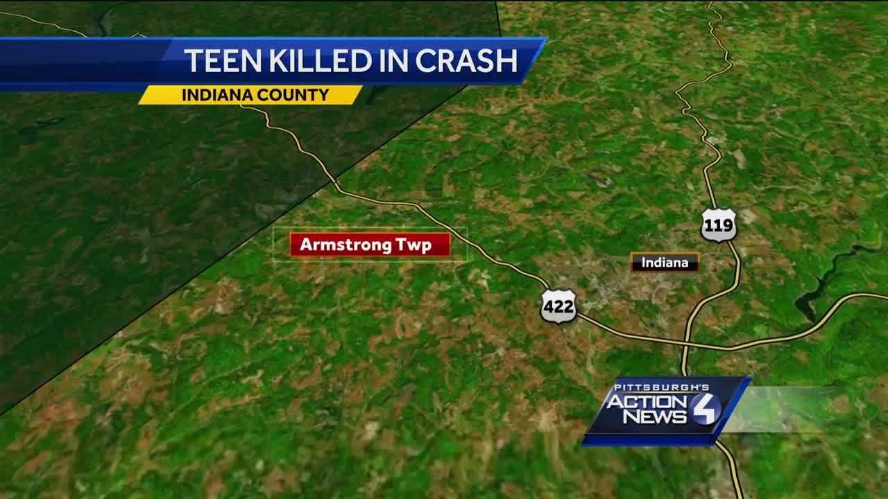 Armstrong Township crash map