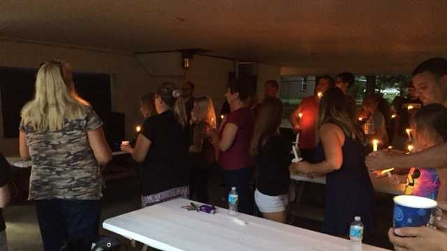 Friends gather to pray for three-year-old boy who fell of roller coaster
