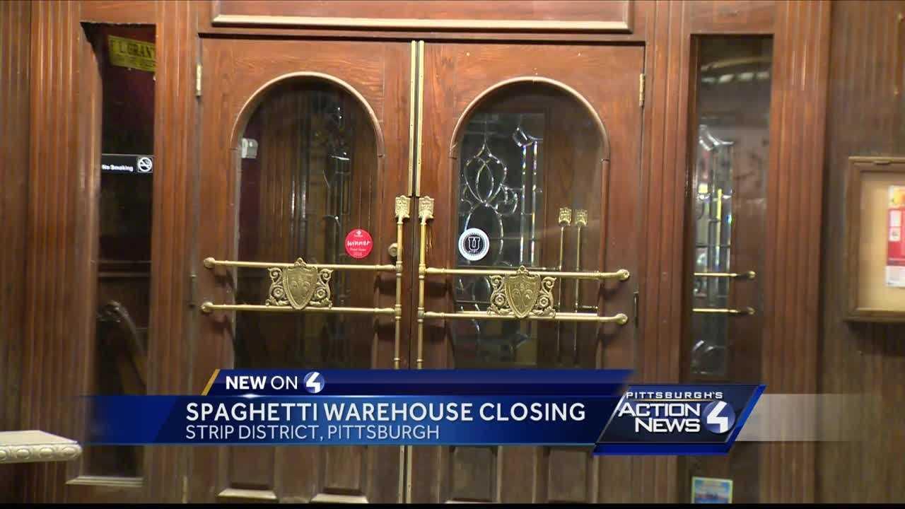 Spaghetti Warehouse to close