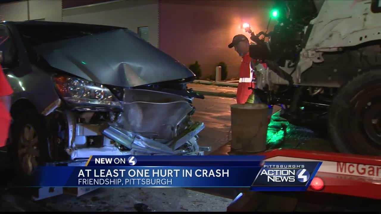 One person hurt in Friendship crash