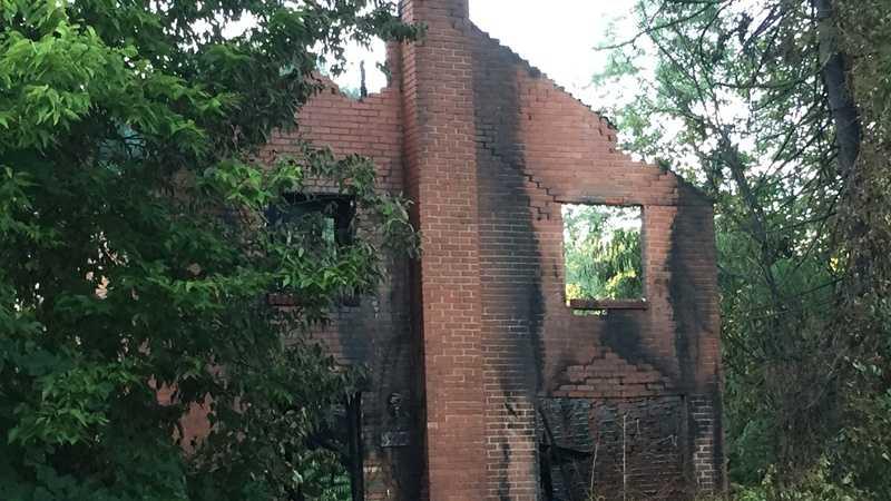 Penn Hills fire damage